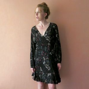 ASTR LS Floral Dress